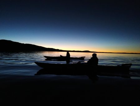 uros sunrise kayak